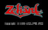 Zeliard for IBM PC/Compatibles - Title screen.