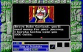Zeliard for IBM PC/Compatibles - The king grants you some money.