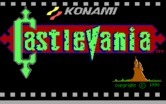 Castlevania for IBM PC/Compatibles screenshot thumbnail - Title screen.