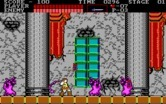 Castlevania for IBM PC/Compatibles screenshot thumbnail - Surrounded by ghosts!
