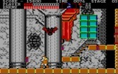 Castlevania for IBM PC/Compatibles screenshot thumbnail - Giant bat attack!