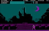 Castlevania for IBM PC/Compatibles screenshot thumbnail - Approaching the castle gate.
