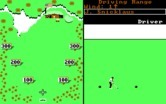 World Tour Golf for IBM PC/Compatibles screenshot thumbnail - Practice at the driving range.