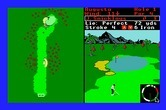 World Tour Golf for Apple IIgs screenshot thumbnail - Near the green.