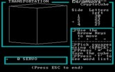 Crypto Cube for IBM PC/Compatibles screenshot thumbnail - The cube rotates from one side to another.