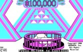 $100,000 Pyramid, The for IBM PC/Compatibles screenshot thumbnail - Title screen.