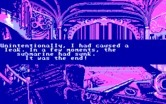 20,000 Leagues Under the Sea for IBM PC/Compatibles - Game over; this is one way to die...