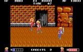 Double Dragon for IBM PC/Compatibles - Attacking with a whip...