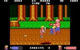 Double Dragon for IBM PC/Compatibles - This opponent is large and packs a mean punch...