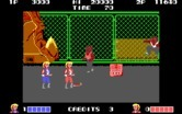Double Dragon for IBM PC/Compatibles - The start of mission 2.