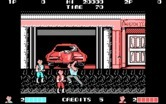 Double Dragon for IBM PC/Compatibles - Game start.