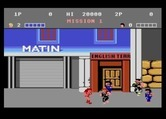 Double Dragon for Atari 7800 - Introduction; your girlfriend is kidnapped!