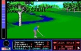 Jack Nicklaus' Unlimited Golf & Course Design for IBM PC/Compatibles - Second shot on a par 5 hole.