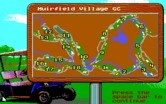 Jack Nicklaus' Unlimited Golf & Course Design for IBM PC/Compatibles - Course overhead view.