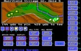 Jack Nicklaus' Unlimited Golf & Course Design for IBM PC/Compatibles - Placing hills on a hole.