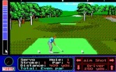 Jack Nicklaus' Unlimited Golf & Course Design for IBM PC/Compatibles - Teeing off.