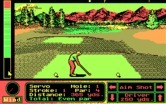 Jack Nicklaus' Unlimited Golf & Course Design for IBM PC/Compatibles - Teeing off...