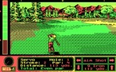 Jack Nicklaus' Unlimited Golf & Course Design for IBM PC/Compatibles - A shot to the green...