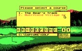 Jack Nicklaus' Unlimited Golf & Course Design for IBM PC/Compatibles - Course selection.