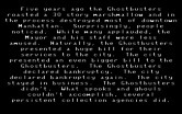 Ghostbusters II for IBM PC/Compatibles - The story so far...