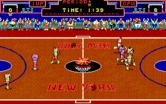 Double Dribble for IBM PC/Compatibles screenshot thumbnail - Running down the court...