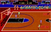 Double Dribble for IBM PC/Compatibles screenshot thumbnail - Blue team defending...poorly...