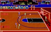 Double Dribble for IBM PC/Compatibles screenshot thumbnail - Attempted a shot, but missed!