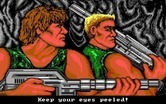 Super Contra for IBM PC/Compatibles screenshot thumbnail - Our two heros...