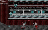 Super Contra for IBM PC/Compatibles screenshot thumbnail - Attacked from multiple directions at once...