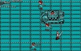 Super Contra for IBM PC/Compatibles screenshot thumbnail - You can attempt to destroy these tanks, or just avoid them...