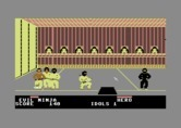 Ninja for Commodore 64 - Some idols are well guarded.