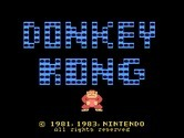 Donkey Kong for TI-99/4A - Title screen.