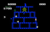 Donkey Kong for Intellivision - Walk over all of the pegs to complete the round.