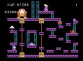 Donkey Kong for ColecoVision - Start of the third round.
