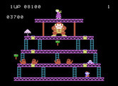 Donkey Kong for ColecoVision - Once you complete all of the screens, the game starts to repeat with higher difficulty.
