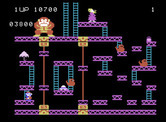 Donkey Kong for ColecoVision - I once again need to jump across the many, little platforms...