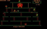 Donkey Kong for IBM PC/Compatibles - Use the hammer to smash opponents...