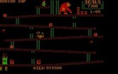 Donkey Kong for IBM PC/Compatibles - Crushed by a barrel!