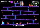 Donkey Kong for Apple II - Round one completed!