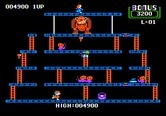 Donkey Kong for Apple II - Almost completed this round!