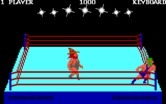 Bop'N Wrestle for IBM PC/Compatibles - Utilizing the ropes.