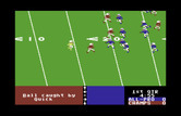 4th & Inches for Commodore 64 - The ball was caught by Quick...