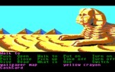 Zak McKracken and the Alien Mindbenders for IBM PC/Compatibles - Approaching a giant sphinx...