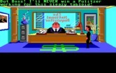 Zak McKracken and the Alien Mindbenders for IBM PC/Compatibles - Introduction; Zak talks with his boss about a lousy assignment...