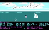 Zak McKracken and the Alien Mindbenders for IBM PC/Compatibles - Fell into the water...maybe this dolphin can help?
