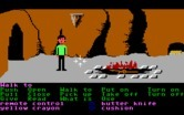 Zak McKracken and the Alien Mindbenders for IBM PC/Compatibles - Exploring a cave.