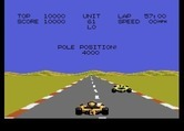 Pole Position II for Atari 7800 - I came in first place in the qualifying round!