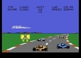 Pole Position II for Atari 7800 - Lots of other cars here, don't crash into them...