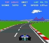Pole Position II for Arcade - No cars in sight, I need to speed up!