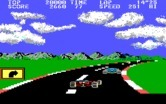 Pole Position II for IBM PC/Compatibles - A sharp turn...